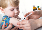 measles vaccine, immunosuppression, vaccination
