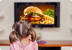 teenage obesity, food commercials, overweight adolescents