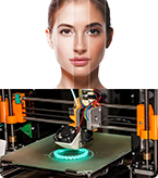 3D bioprinter, 3D printing, and Skin