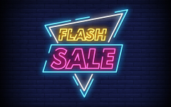 Mystery flash sale coming soon!