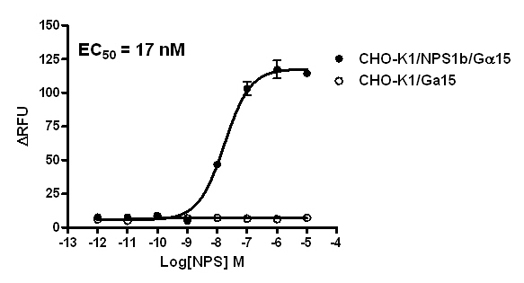CHO-K1/NPS1b/Gα15 Stable Cell Line